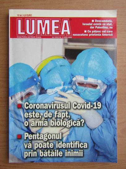 Anticariat: Revista Lumea, an XXVI, nr. 4 (325), 2020