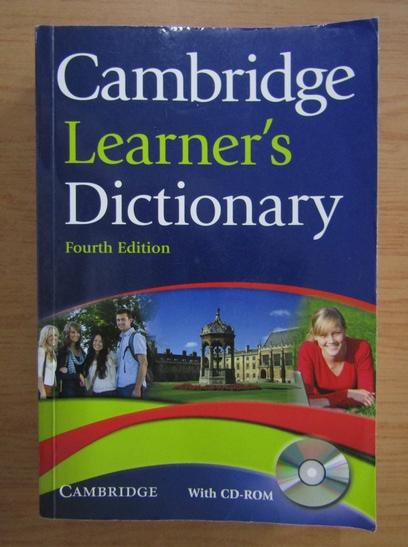 Anticariat: Cambridge learner's dictionary