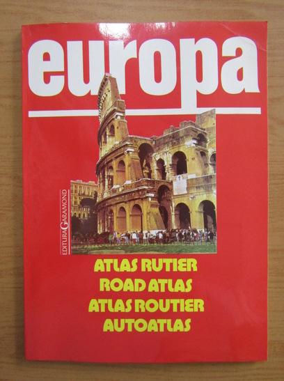 Anticariat: Mihail Gabriel Albota - Europa. Atlas rutier