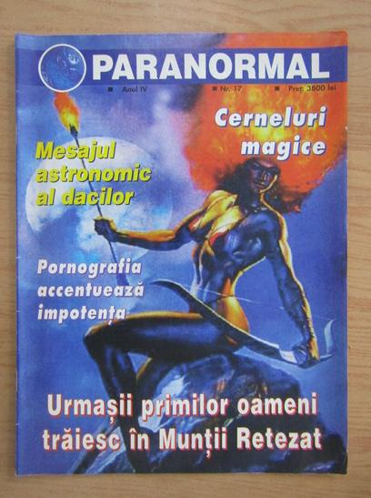 Anticariat: Revista Paranormal, anul IV, nr. 17