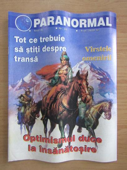 Anticariat: Revista Paranormal, anul IV, nr. 36