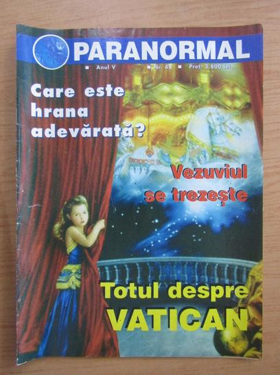 Anticariat: Revista Paranormal, anul V, nr. 48