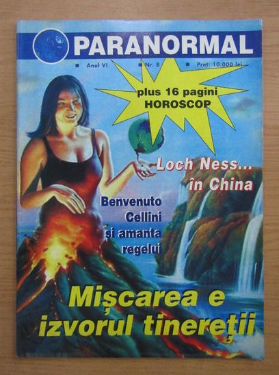 Anticariat: Revista Paranormal, anul VI, nr. 8