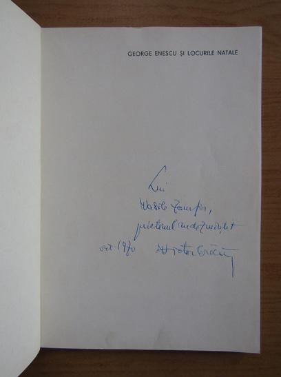 Anticariat: Victor Craciun - George Enescu si locurile natale (cu autograful autorului)