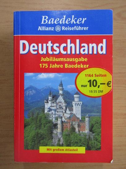 Anticariat: Deutschland. Mit grossem Atlasteil