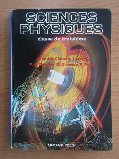 Anticariat: Paul Jean Chirouze - Sciences physiques