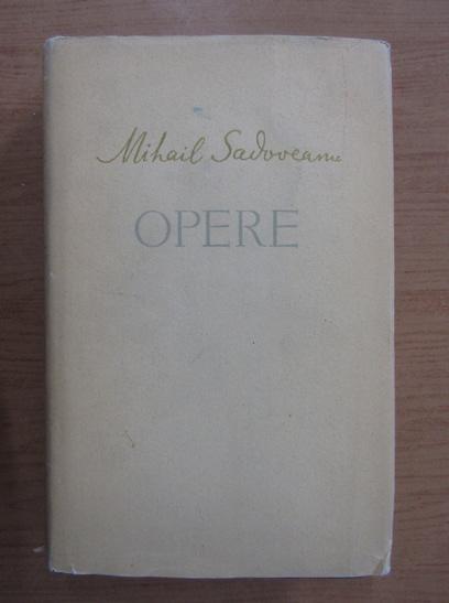 Anticariat: Mihail Sadoveanu - Opere (volumul 15)
