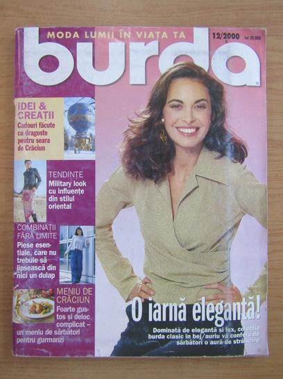 Anticariat: Revista Burda, nr. 12, 2000