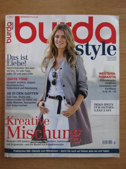 Anticariat: Revista Burda, nr. 3, 2012