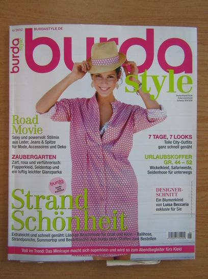 Anticariat: Revista Burda, nr. 6, 2012