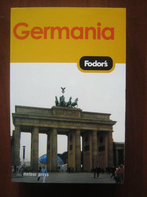 Anticariat: Germania. Ghid Fodor's