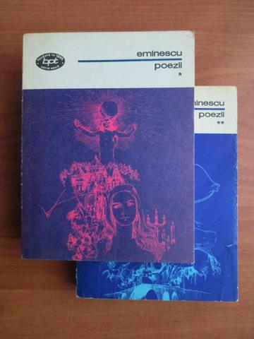 Anticariat: Mihai Eminescu - Poezii (2 volume)