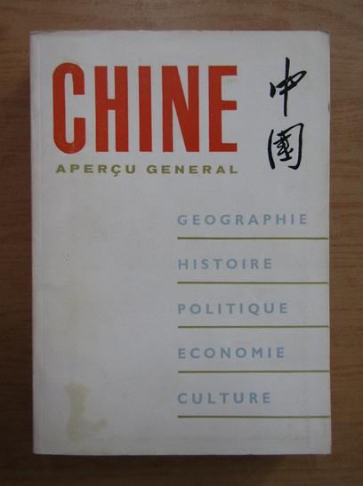 Anticariat: Chine. Apercu general