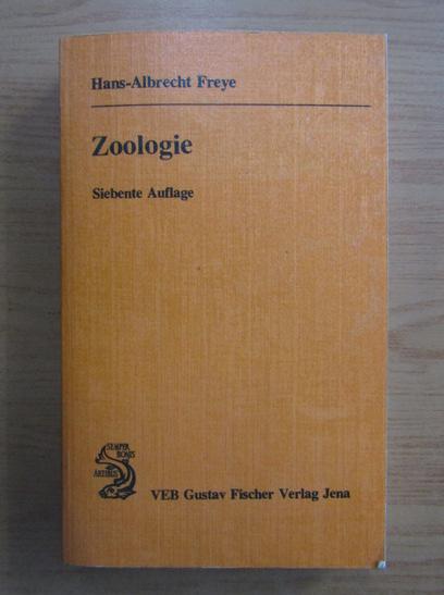 Anticariat: Hans-Albrecht Freye - Zoologie