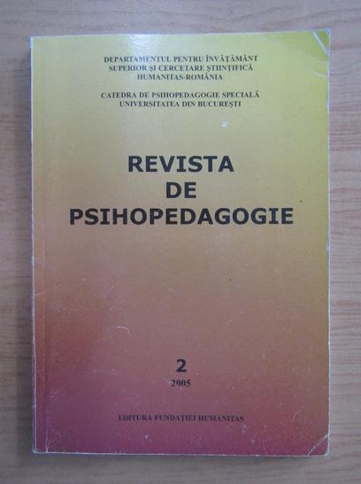 Anticariat: Revista de psihologie, nr. 2, 2005