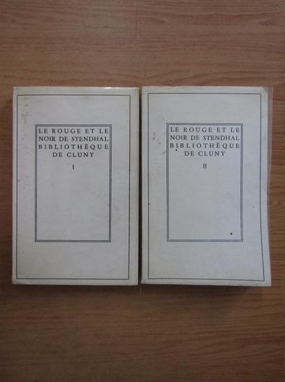 Anticariat: Stendhal - Le rouge et le noir (2 volume)