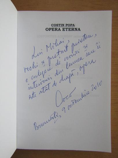 Anticariat: Costin Popa - Opera eterna (cu autograful autorului)