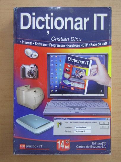 Anticariat: Cristian Dinu - Dictionar IT