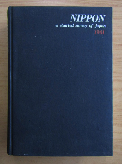 Anticariat: Nippon 1961 a charted survey of Japan
