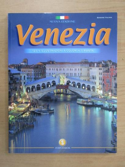 Anticariat: Venezia, 123 illustrazioni a colori, 1 Pianta (ghid)