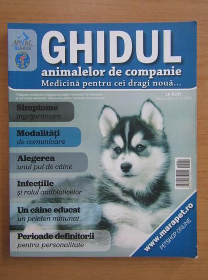Anticariat: Ghidul animalelor de companie