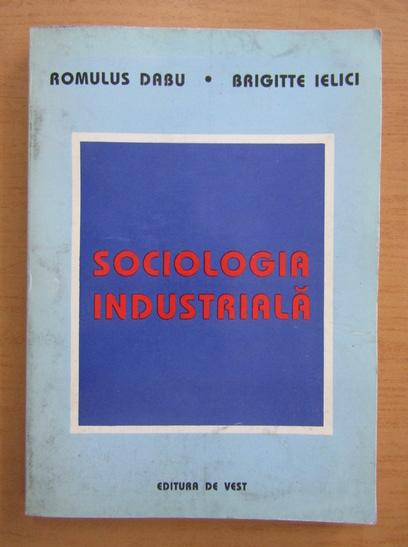 Anticariat: Romulus Dabu - Sociologia industriala