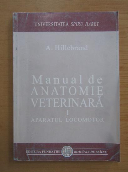 Anticariat: A. Hillebrand - Manual de anatomie veterinara (volumul 1)