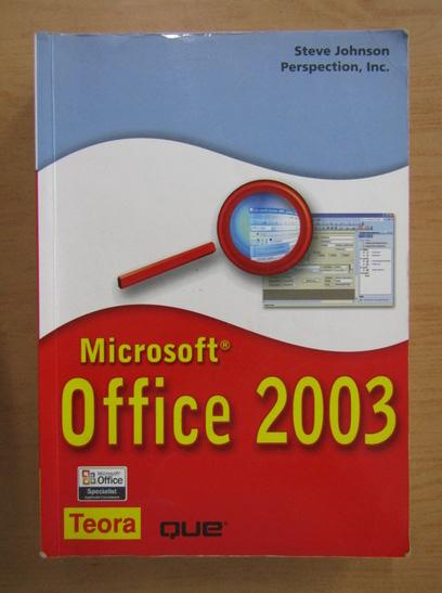 Anticariat: Steve Johnson - Microsoft Office 2003