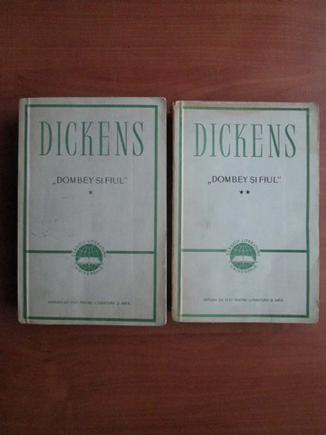 Anticariat: Charles Dickens - Dombey si fiul (2 volume)