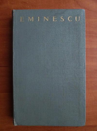 Anticariat: Mihai Eminescu - Poezii (editie ingrijita de Perpessicius)