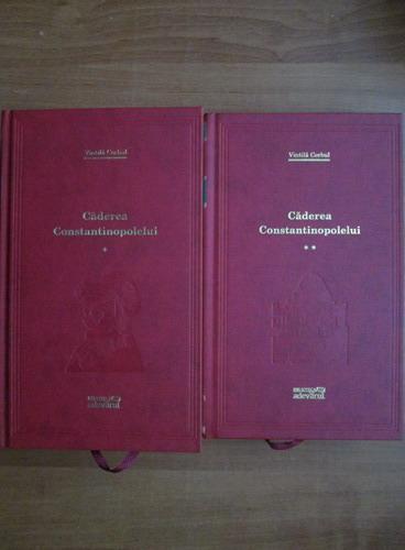 Anticariat: Vintila Corbul - Caderea Constantinopolelui (2 volume) (Adevarul)