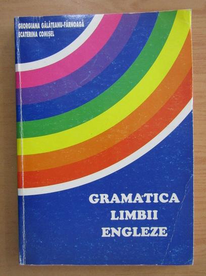 Anticariat: Georgiana Galateanu Farnoaga - Gramatica limbii engleze