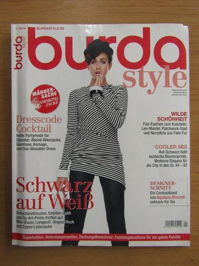 Anticariat: Revista Burda, nr. 1, 2014