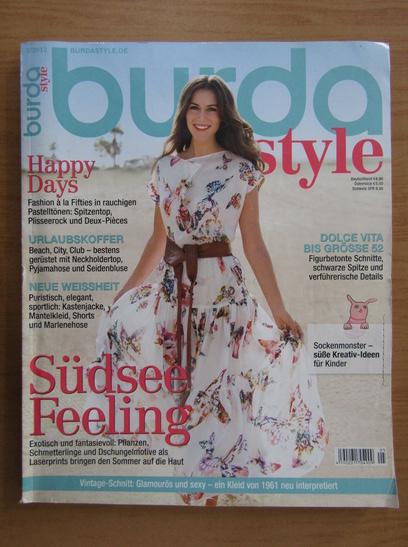 Anticariat: Revista Burda, nr. 5, 2012