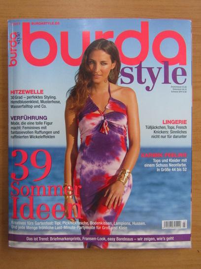 Anticariat: Revista Burda, nr. 7, 2013