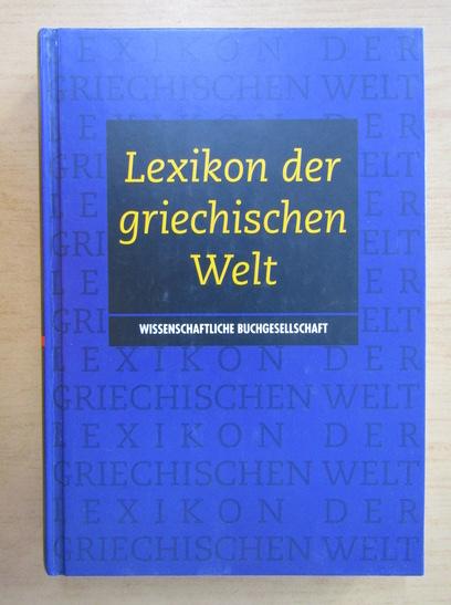 Anticariat: Guy Rachet - Lexikon der griechischen Welt