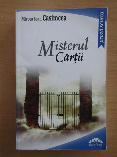 Anticariat: Ioan Mircea - Misterul cartii