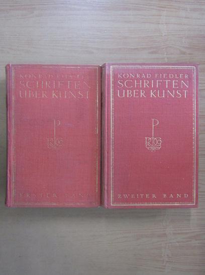 Anticariat: Konrad Fiedler - Schriften uber Kunst (2 volume)