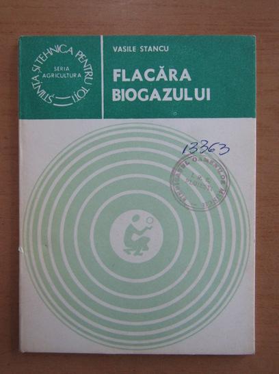 Anticariat: Vasile Stancu - Flacara biogazului