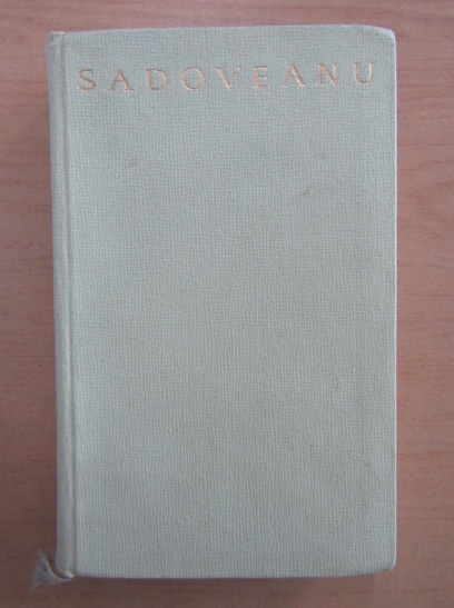 Anticariat: Mihail Sadoveanu - Vremuri de bejenie (volumul 2)