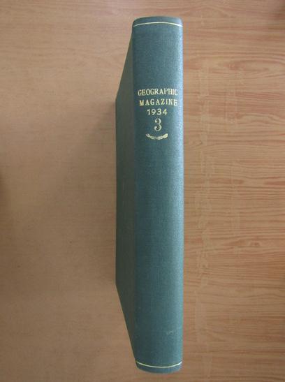 Anticariat: The National Geografic Magazine, volumul LXVI, 1934 (3 numere colegate)