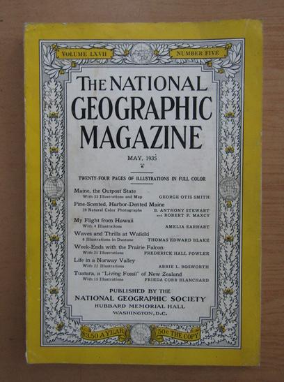 Anticariat: The National Geographic Magazine, volumul LXVII, nr. 5, mai 1935