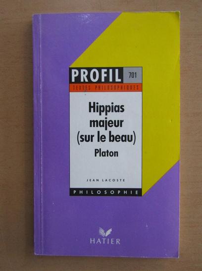 Anticariat: Platon - Hippias majeur