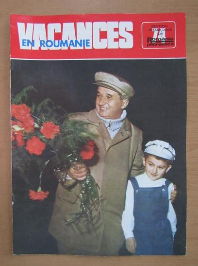 Anticariat: Revista Vacances en Roumanie, nr. 74, 1977