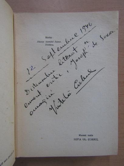 Anticariat: Vintila Corbul - Sclavii pamantului (cu autograful autorului)