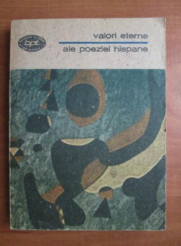 Anticariat: Valori eterne ale poeziei hispane