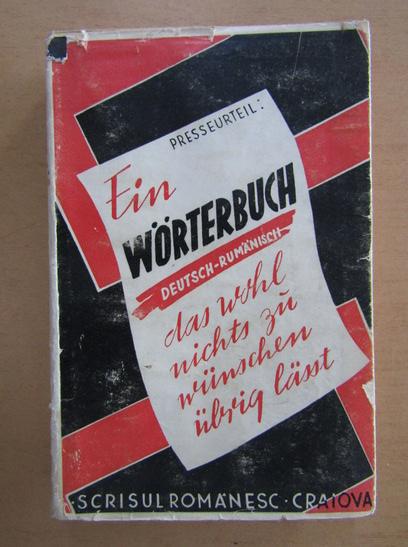 Anticariat: Constantin Saineanu - Dictionar german-roman