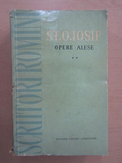 Anticariat: St. O. Iosif - Opere alese (volumul 2)
