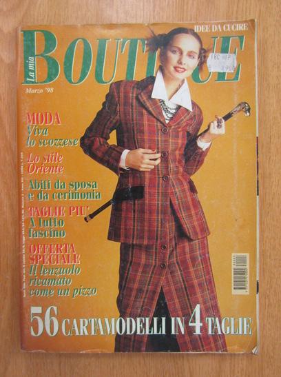 Anticariat: Revista La mia Boutique, anul XIII, nr. 3, 1998