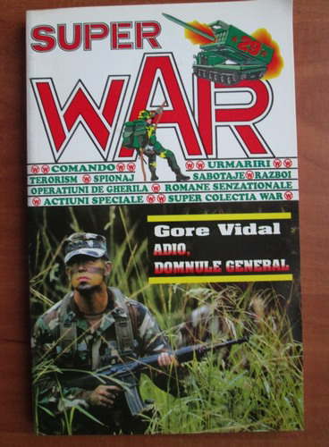 Anticariat: Gore Vidal - Adio, domnule general